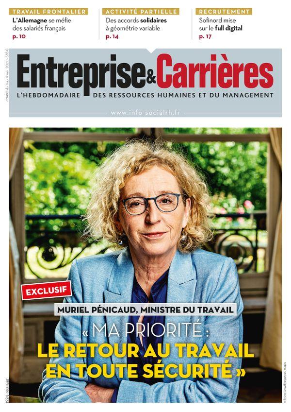 Couverture magazine Entreprise et carrières n° 1480