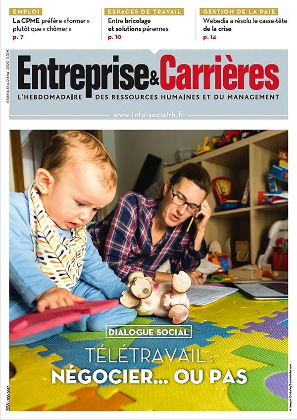 Couverture magazine Entreprise et carrières n° 1481