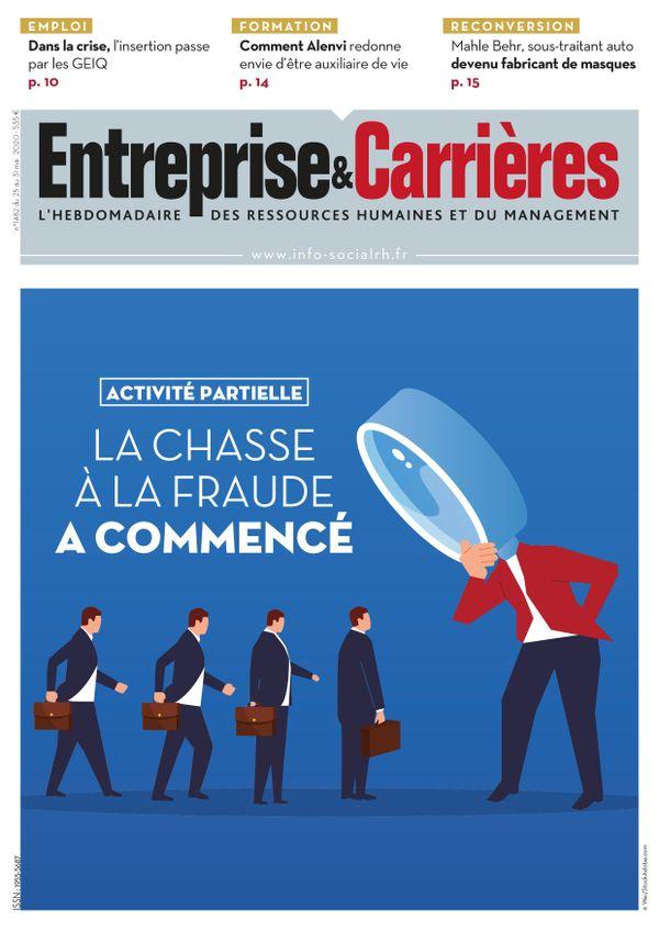Couverture magazine Entreprise et carrières n° 1482