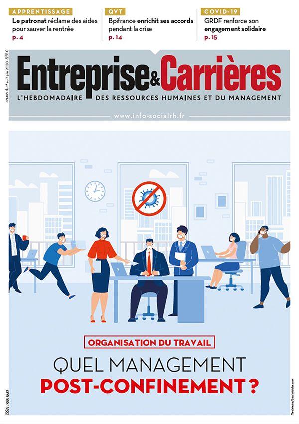 Couverture magazine Entreprise et carrières n° 1483