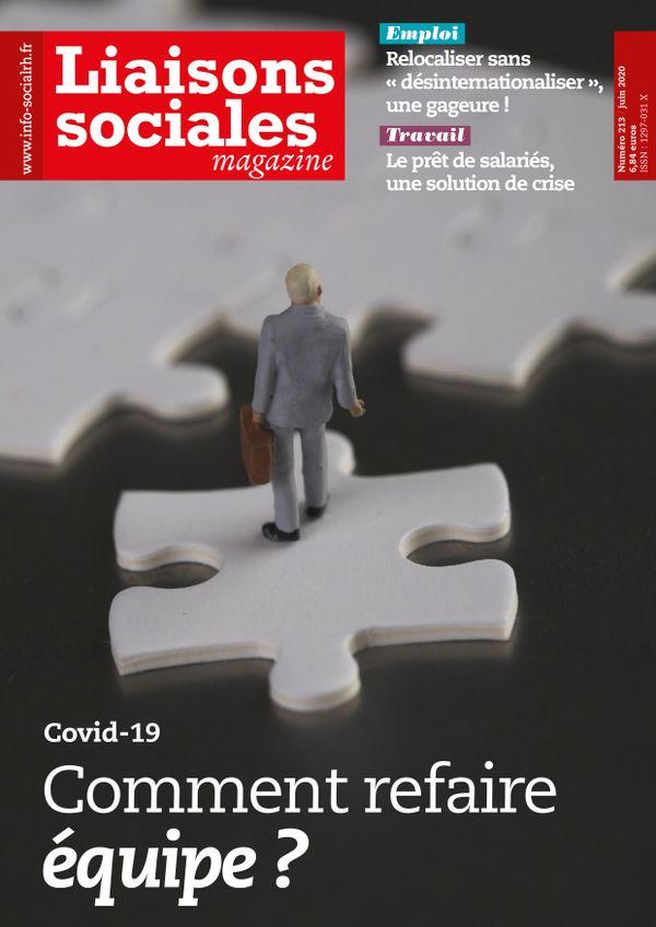 Couverture magazine Liaisons sociales magazine n° 213