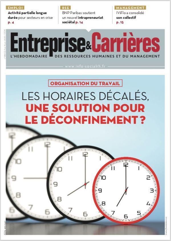 Couverture magazine Entreprise et carrières n° 1484