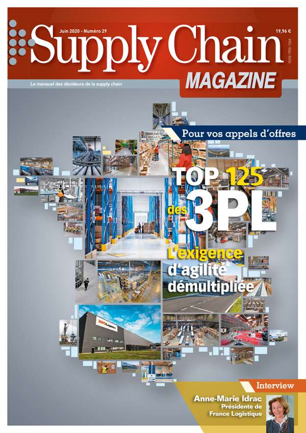 Couverture magazine supply chain magazine n° 29