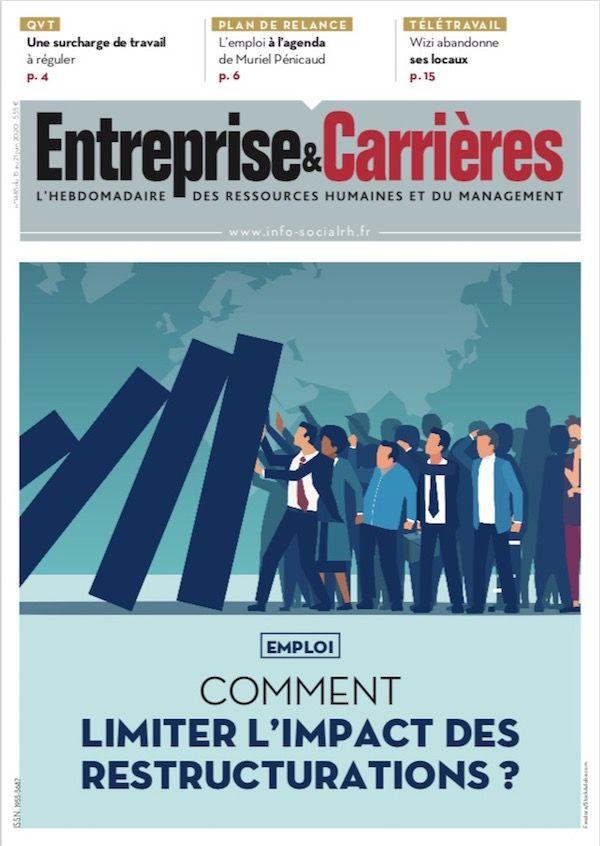 Couverture magazine Entreprise et carrières n° 1485