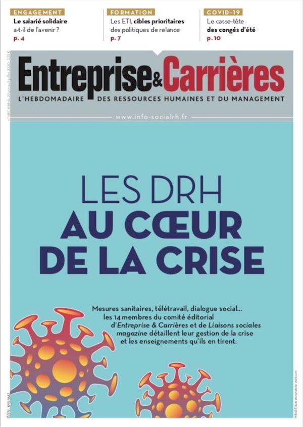 Couverture magazine Entreprise et carrières n° 1487