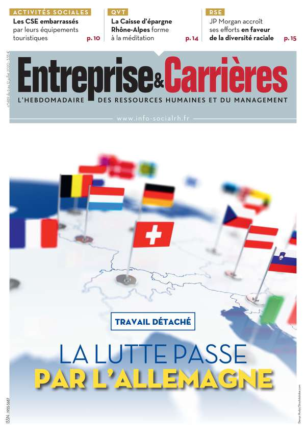 Couverture magazine Entreprise et carrières n° 1489