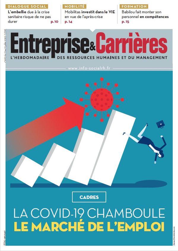 Couverture magazine Entreprise et carrières n° 1490