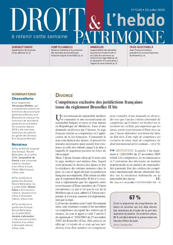 Sommaire n°1245