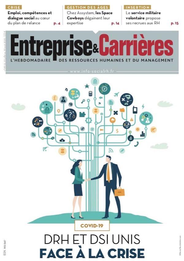 Couverture magazine Entreprise et carrières n° 1491