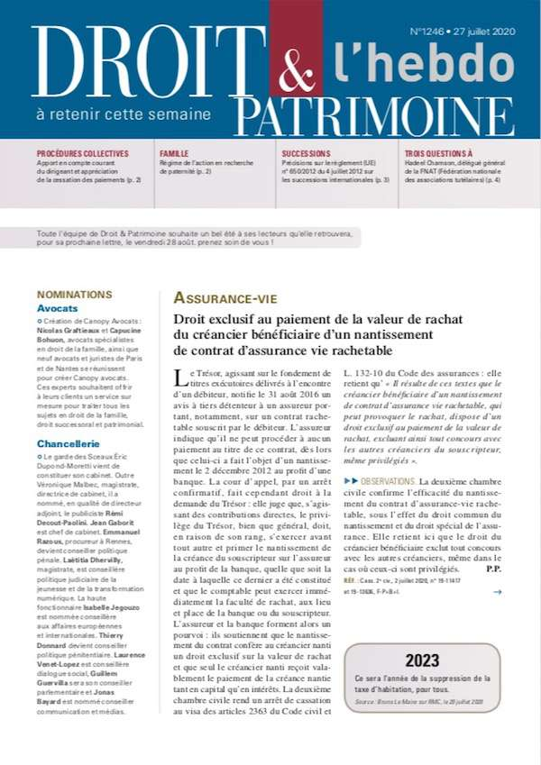 Sommaire n°1246