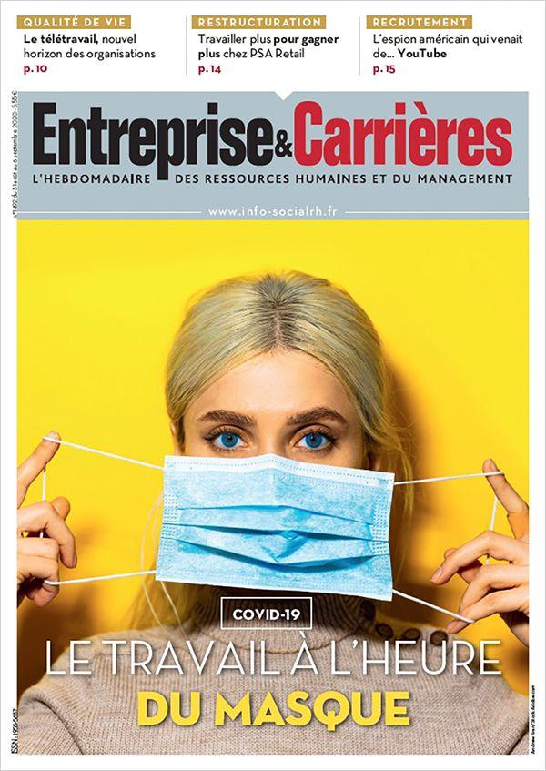 Couverture magazine Entreprise et carrières n° 1492