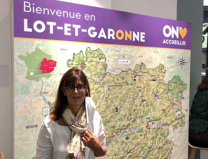 Sophie Borderie, président du Lot-et-Garonne
