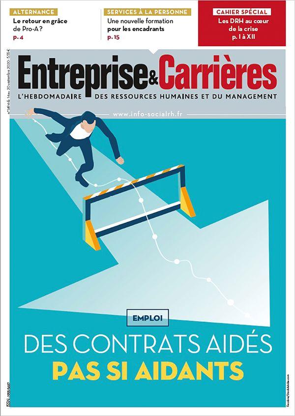 Couverture magazine Entreprise et carrières n° 1494