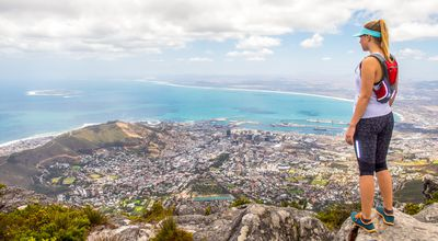 Overlooking Cape Town & Table Bay