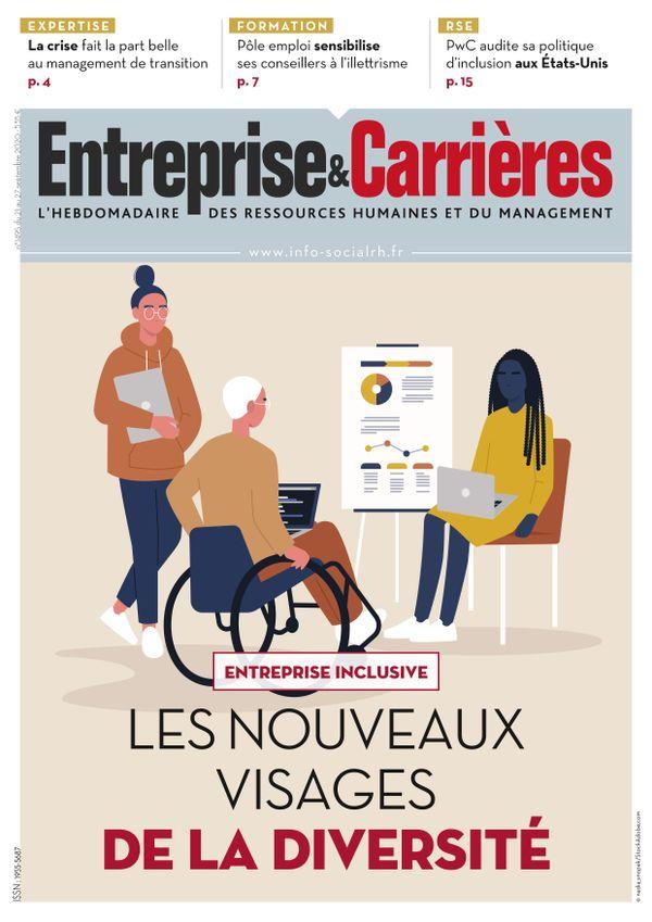 Couverture magazine Entreprise et carrières n° 1495