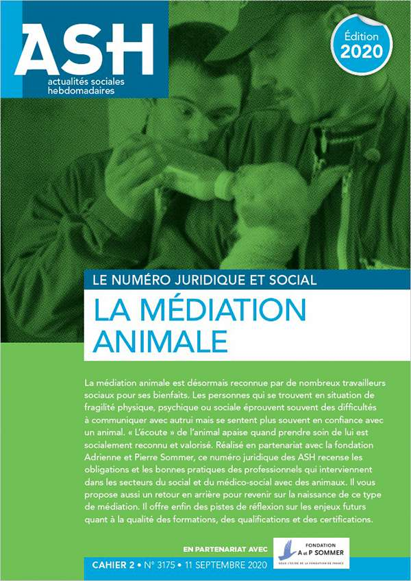 LA MÉDIATION ANIMALE