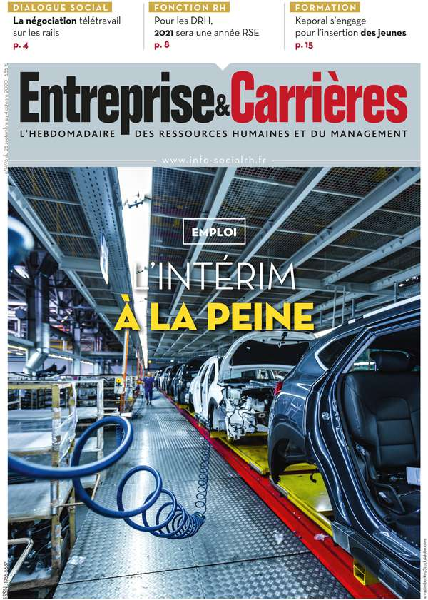 Couverture magazine Entreprise et carrières n° 1496
