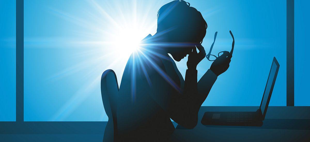fatigue - burnout - femme - fatigue au travail - surmenage - mig