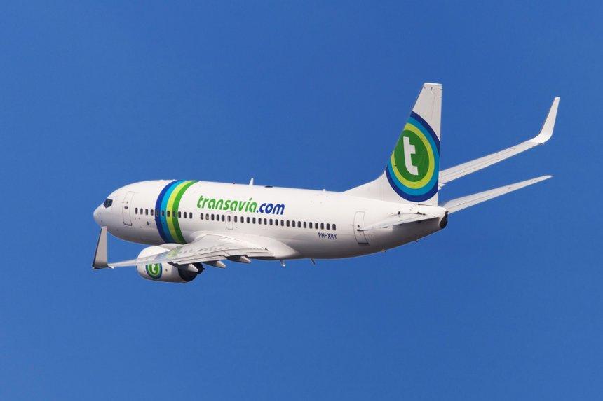 Transavia Boeing 737-700 Banking