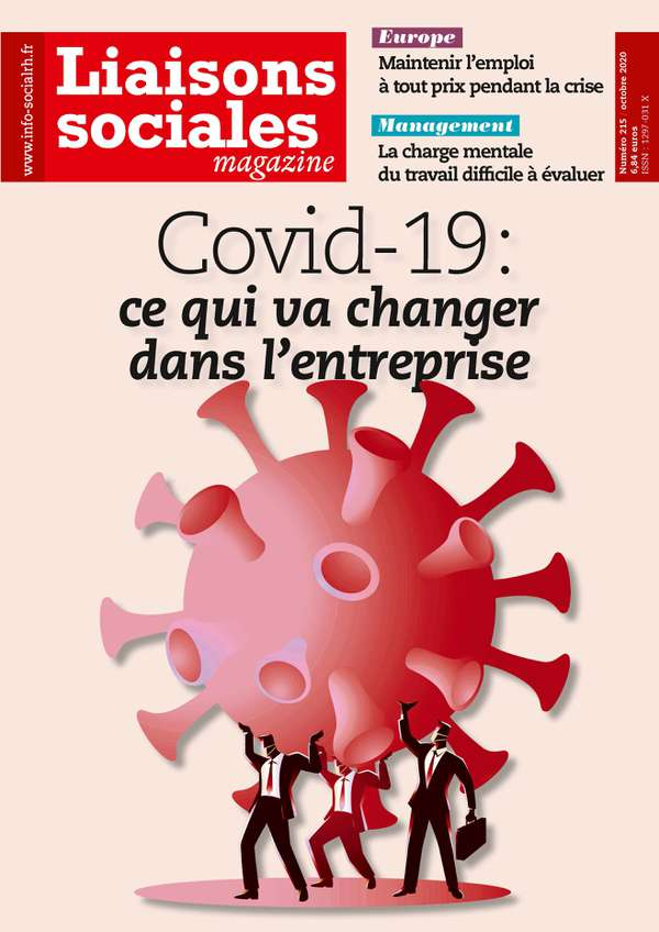 Couverture magazine n° 215