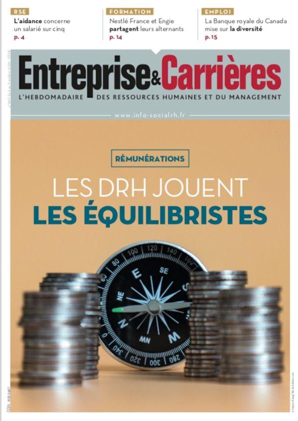Couverture magazine Entreprise et carrières n° 1497