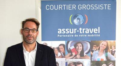 Arnaud Gérard, co-président d'assur-travel
