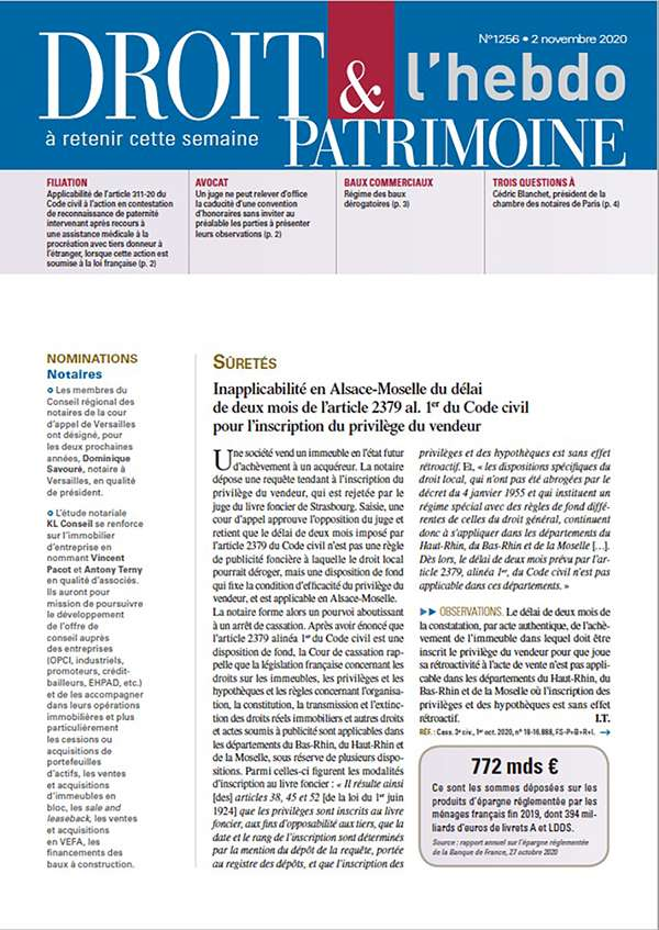 Sommaire n°1256