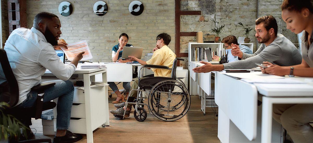 86% des travailleurs handicapés se sentent intégrés dans l'entreprise
