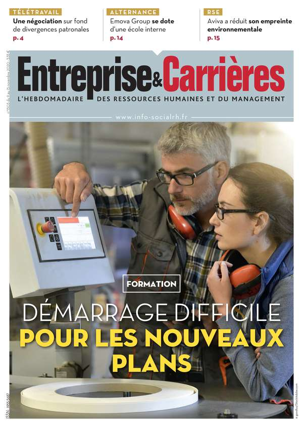Couverture magazine Entreprise et carrières n° 1503