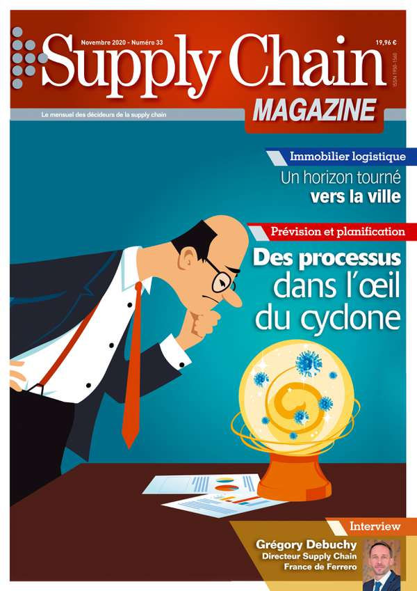 Couverture magazine supply chain magazine n° 33