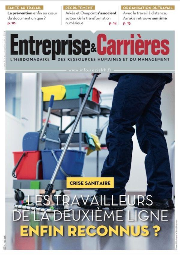 Couverture magazine Entreprise et carrières n° 1504