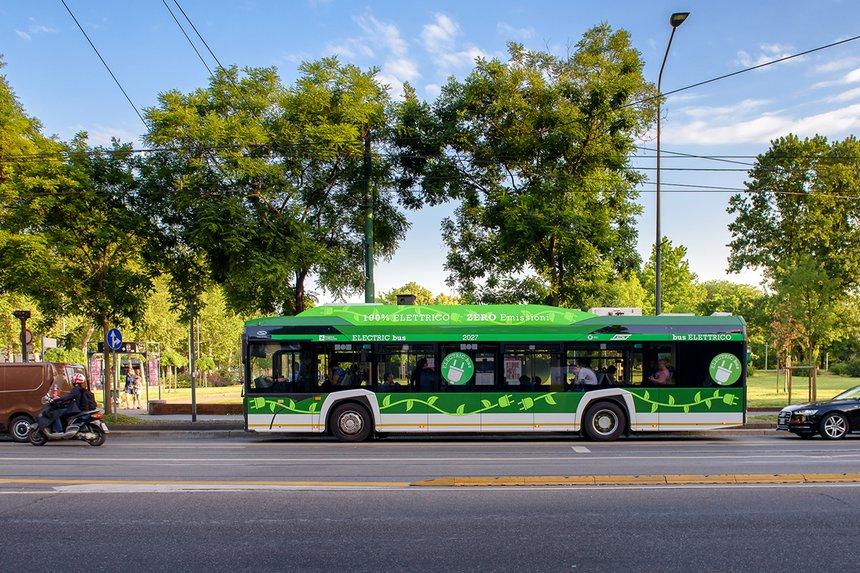 Milan commande 100 bus électriques Urbino 12 supplémentaires à Solaris