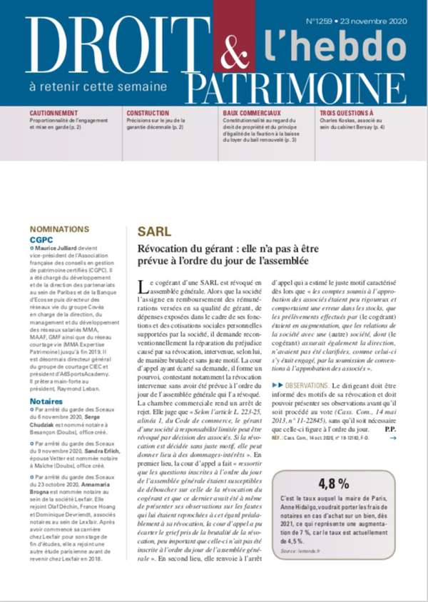 Sommaire n°1259