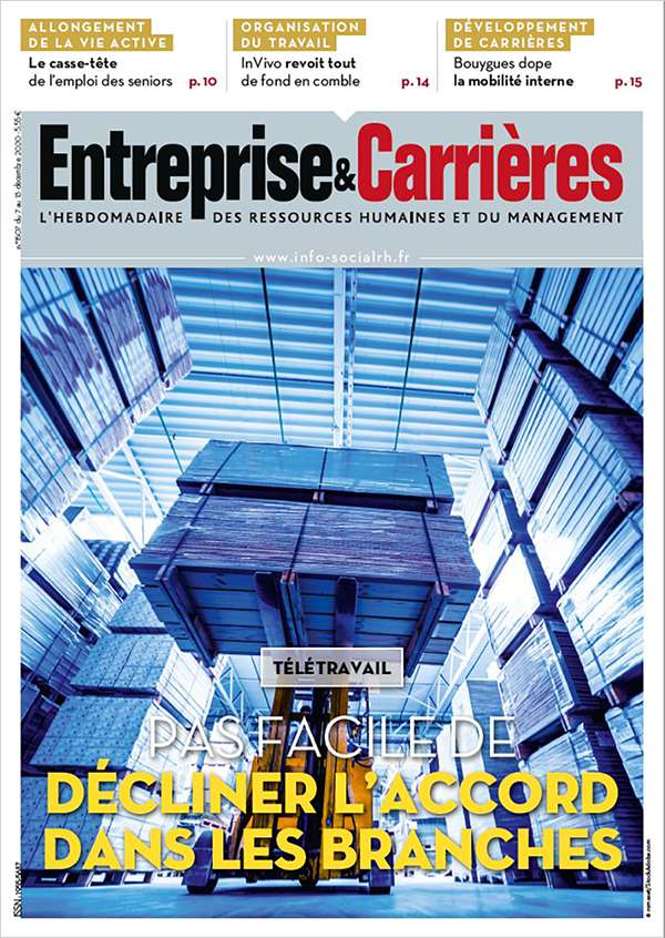 Couverture magazine n° 1507