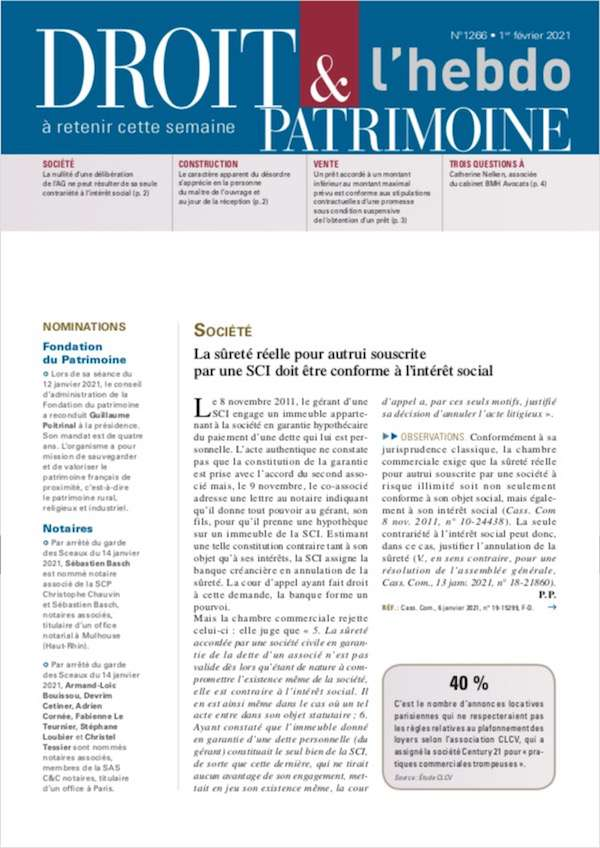 Sommaire n°1266