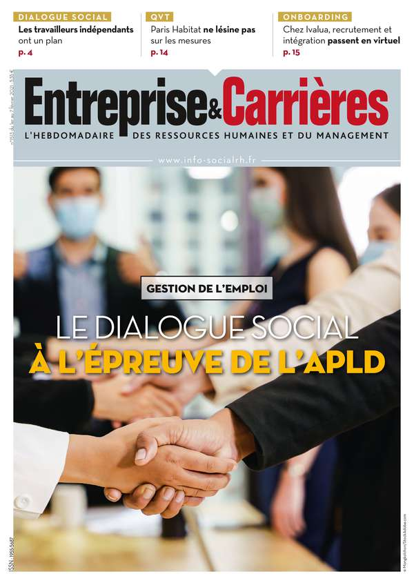 Couverture magazine Entreprise et carrières n° 1513
