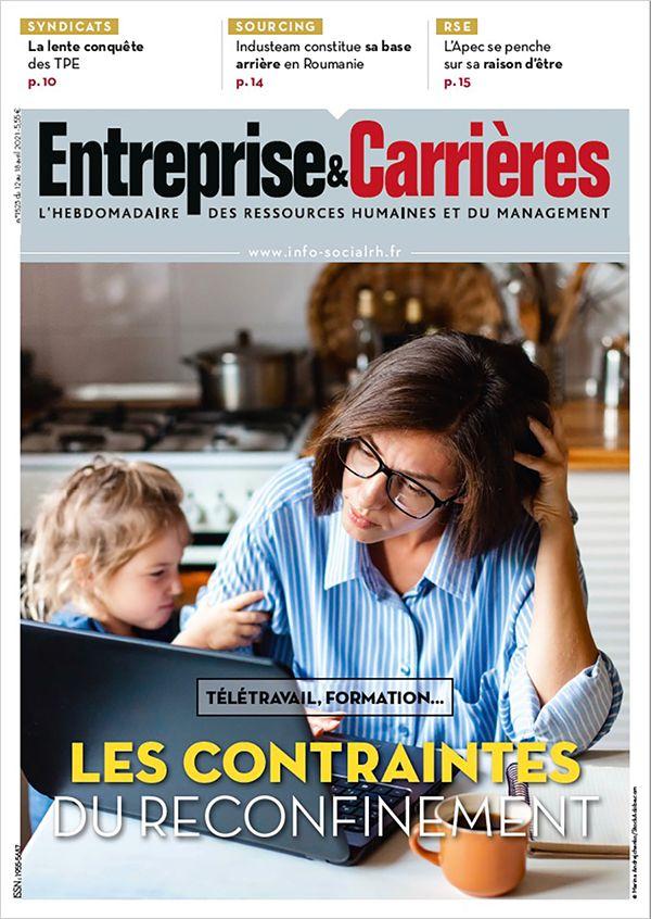 Couverture magazine Entreprise et carrières n° 1523