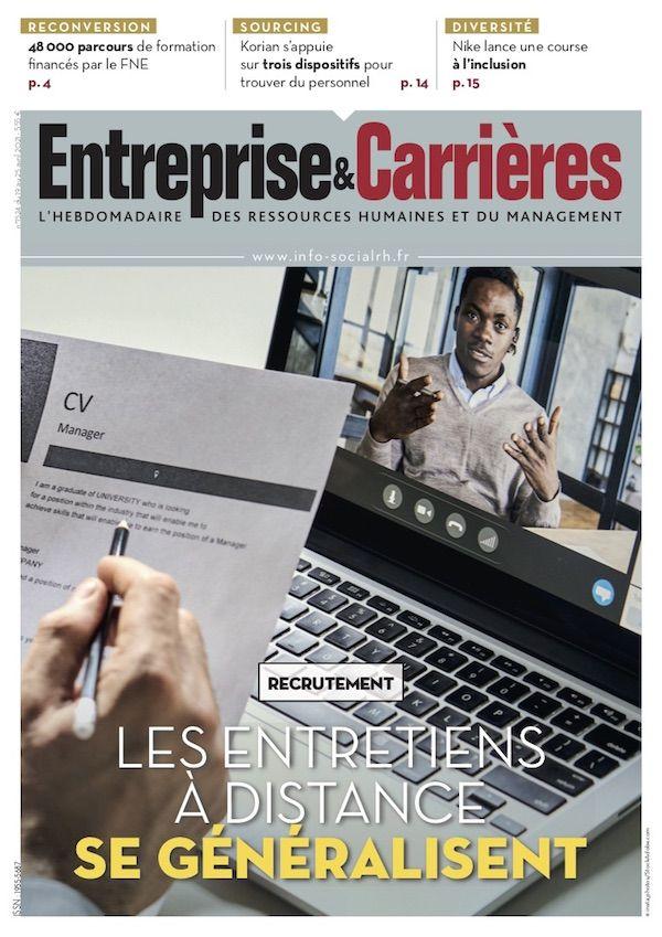 Couverture magazine Entreprise et carrières n° 1524