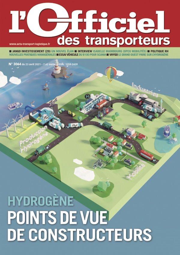 Couverture magazine officiel des transporteurs n° 3064
