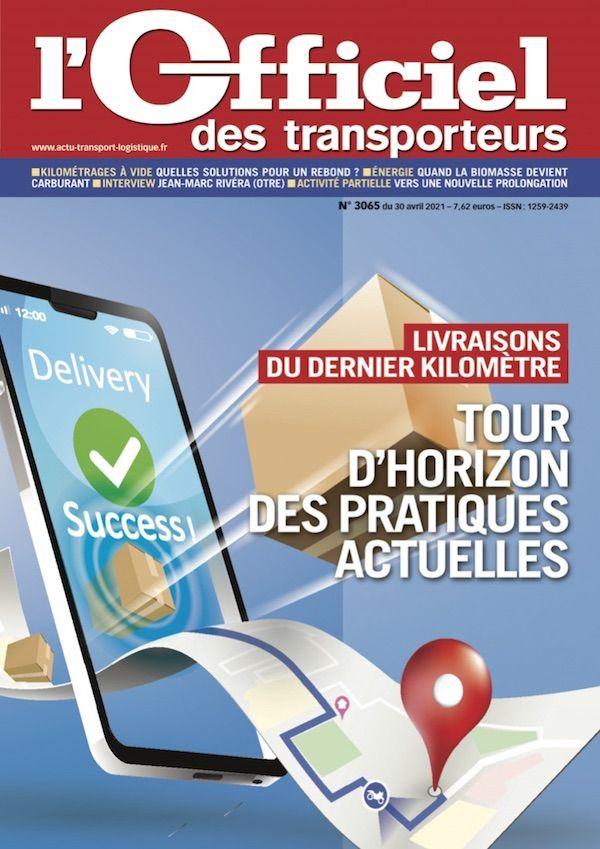 Couverture magazine officiel des transporteurs n° 3065