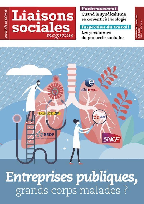 Couverture magazine Liaisons sociales magazine n° 222