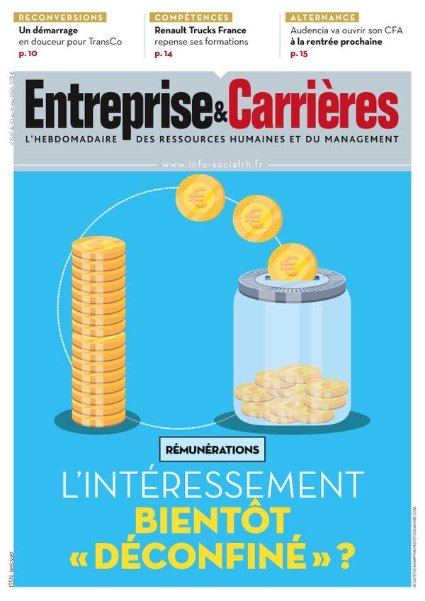 Couverture magazine Entreprise et carrières n° 1527