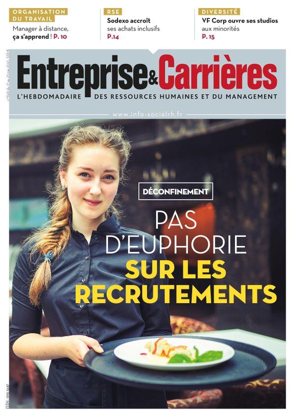 Couverture magazine Entreprise et carrières n° 1528