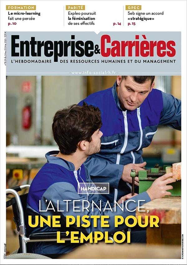 Couverture magazine Entreprise et carrières n° 1529