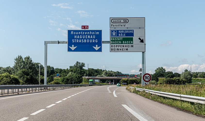 Autobahn Frankreich, A35