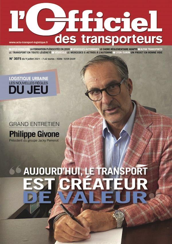 Couverture magazine n° 3075