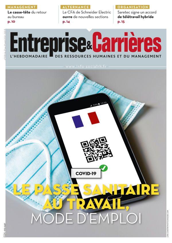 Couverture magazine Entreprise et carrières n° 1538