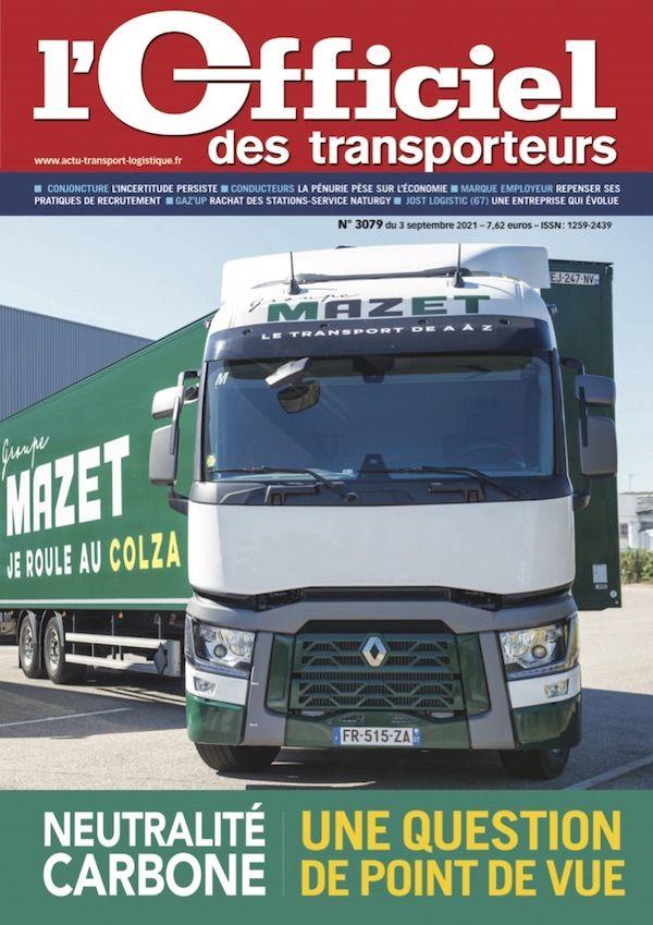 Couverture magazine n° 3079