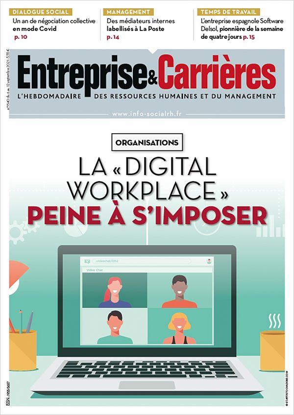 Couverture magazine Entreprise et carrières n° 1540