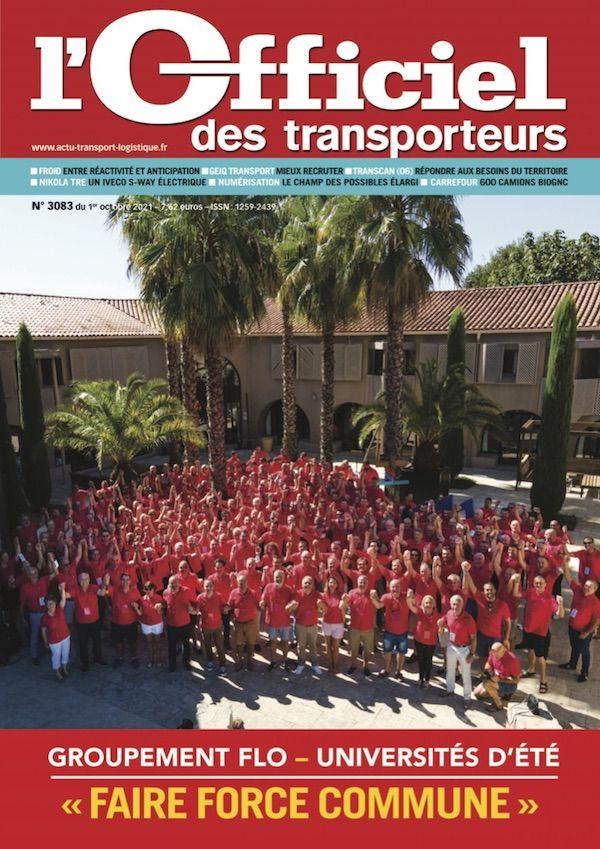 Couverture magazine officiel des transporteurs n° 3083